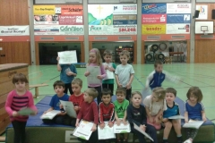 Kindersportgruppe 2014